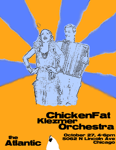 ChickenFat Klezmer Orchestra, live at the Atlantic Bar and Grill, October 27, 2013