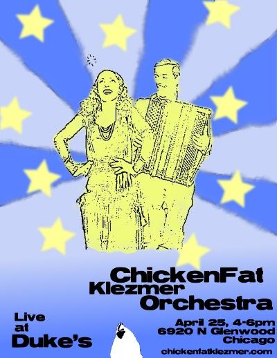 ChickenFat Klezmer Orchestra, April 2010
