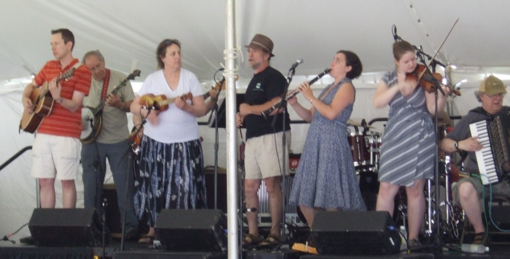 ChickenFat Klezmer Orchestra at Folk and Roots 2009