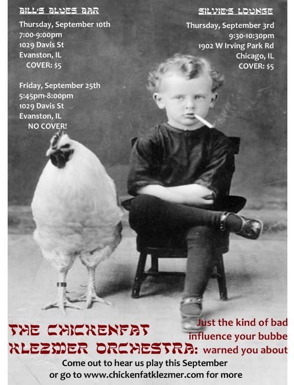 ChickenFat September 2009