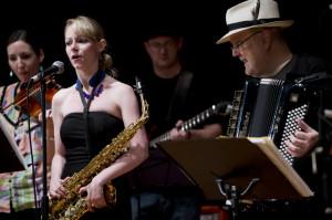 01 - ChickenFat Klezmer Orchestra at Make Music Chicago